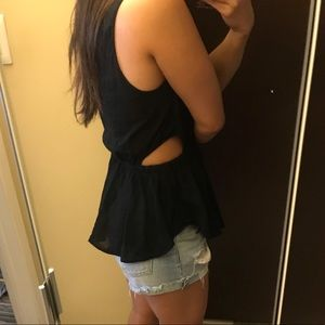 Lou and Grey Peek a boo side top